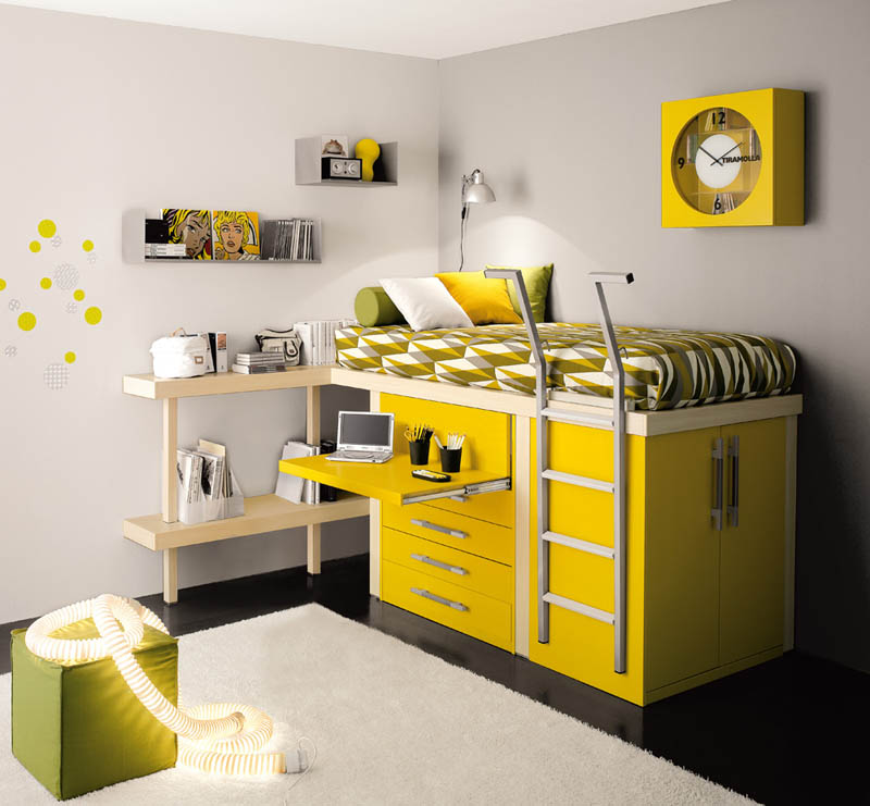 rooms 3 Как сэкономить место в детской комнате