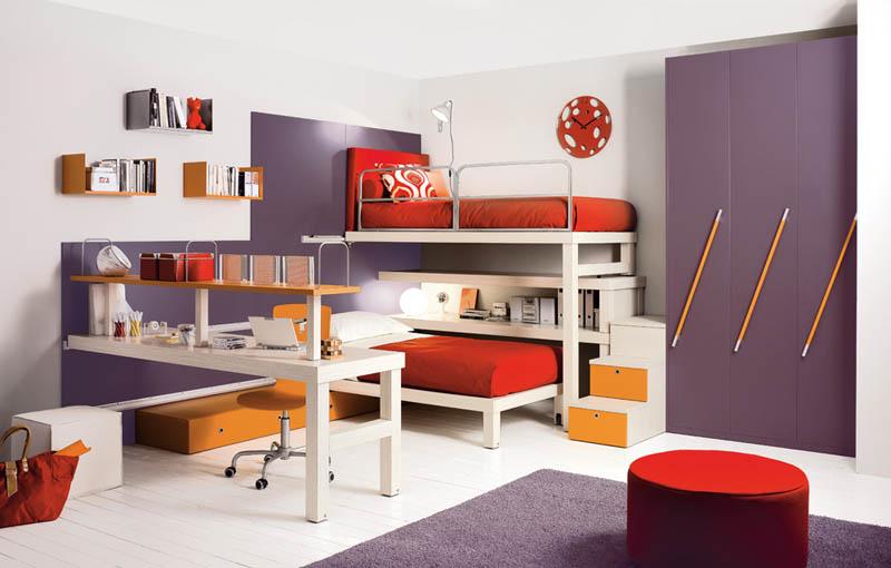 rooms 5 Как сэкономить место в детской комнате