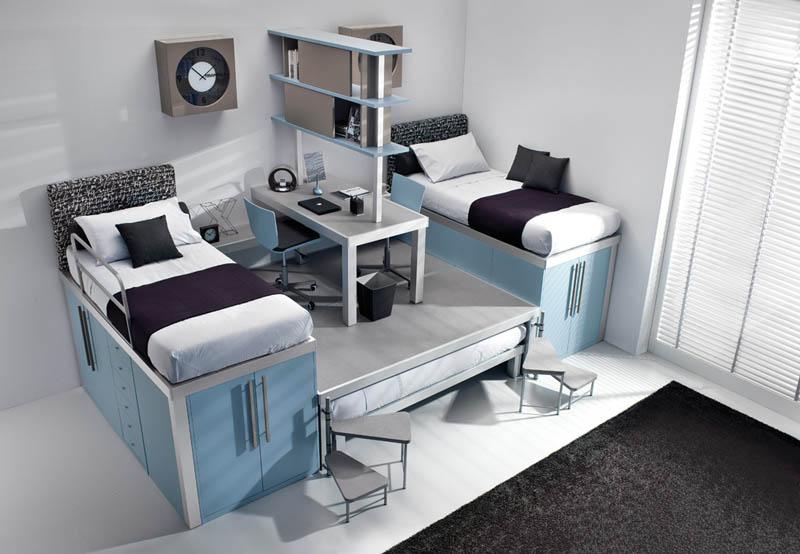 rooms 6 Как сэкономить место в детской комнате