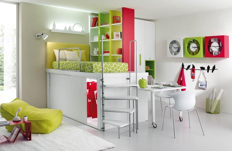 rooms 7 Как сэкономить место в детской комнате