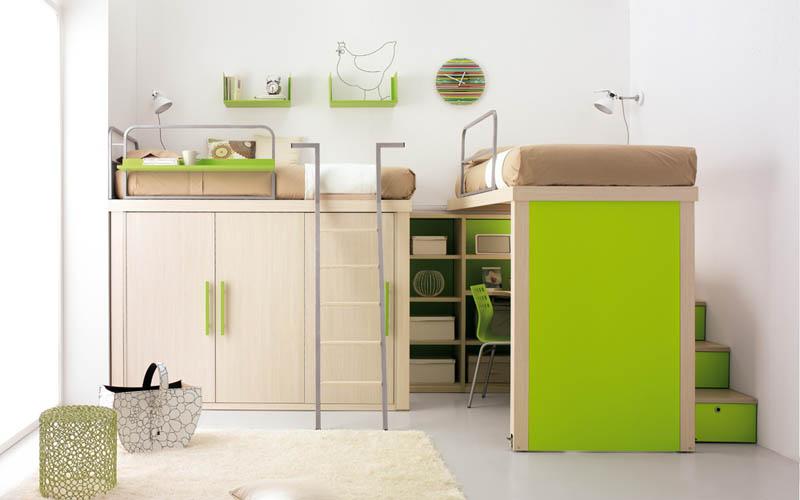 rooms 8 Как сэкономить место в детской комнате