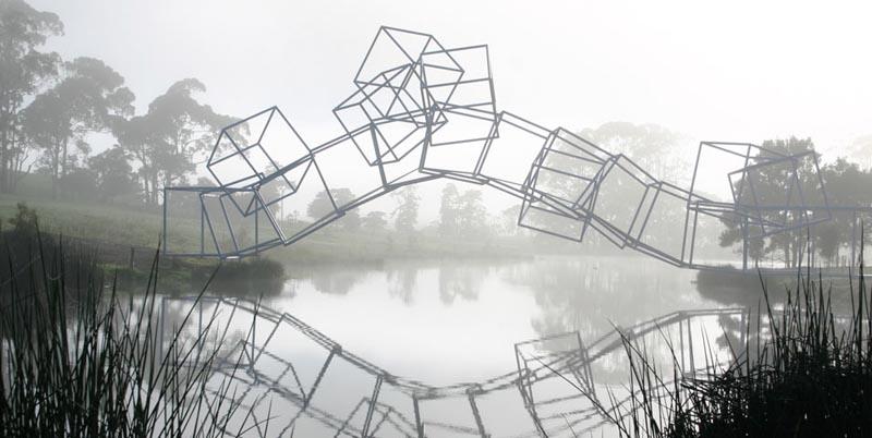 sculptures 22 Скульптуры в парке Gibbs Farm
