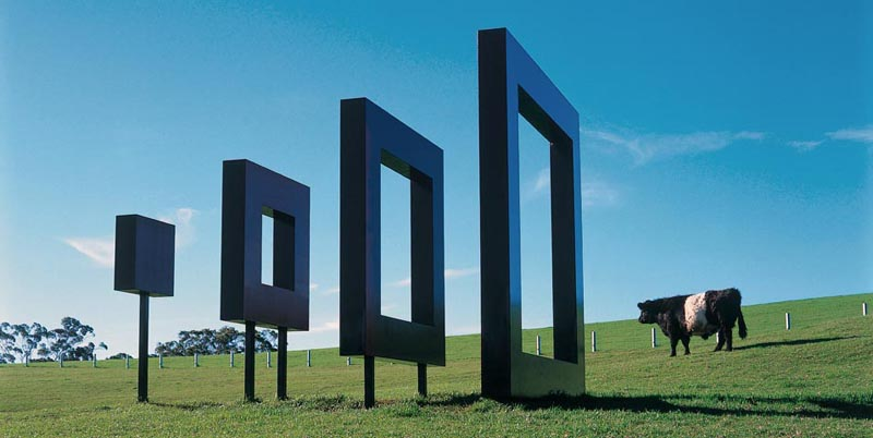 sculptures 7 Скульптуры в парке Gibbs Farm