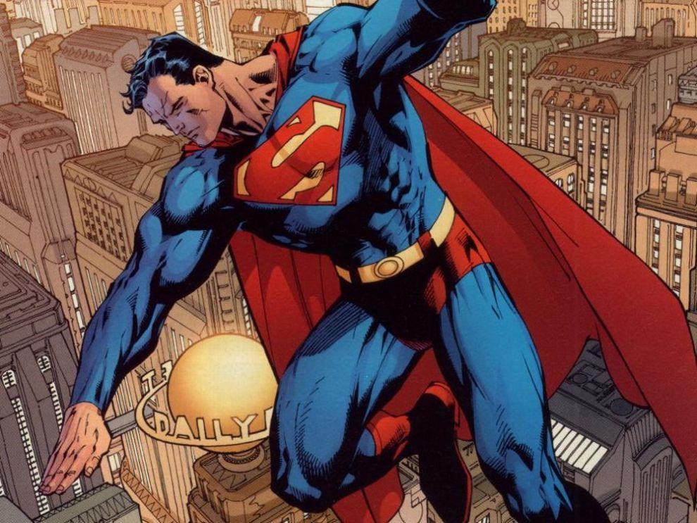 34 супермен вымышленный супергерой