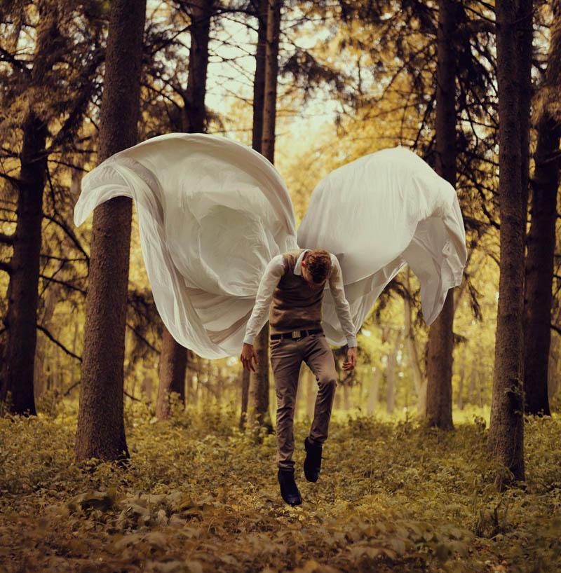 surreal 1 Сюрреалистические автопортреты Кайла Томпсона