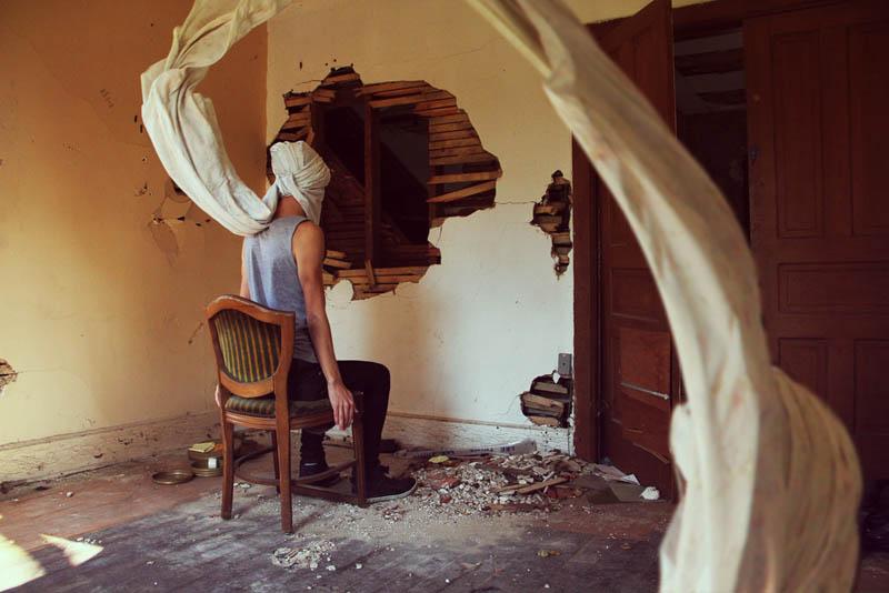 surreal 17 Сюрреалистические автопортреты Кайла Томпсона