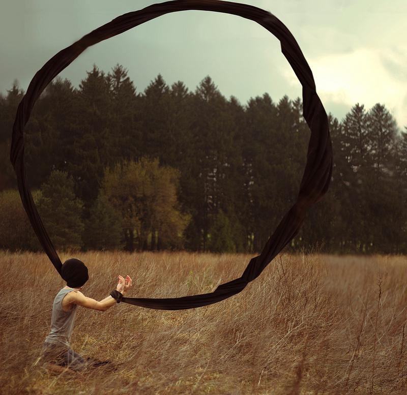 surreal 4 Сюрреалистические автопортреты Кайла Томпсона