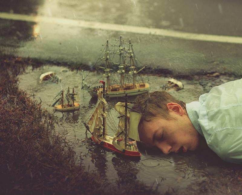 surreal 5 Сюрреалистические автопортреты Кайла Томпсона