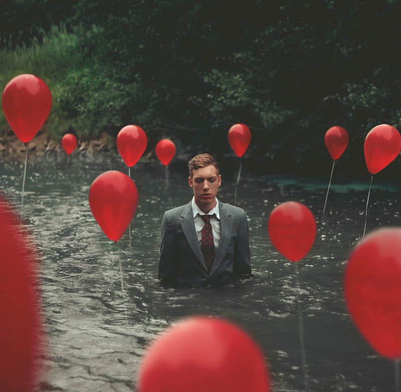 surreal 6 Сюрреалистические автопортреты Кайла Томпсона