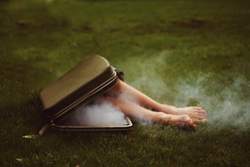 surreal 7 Сюрреалистические автопортреты Кайла Томпсона
