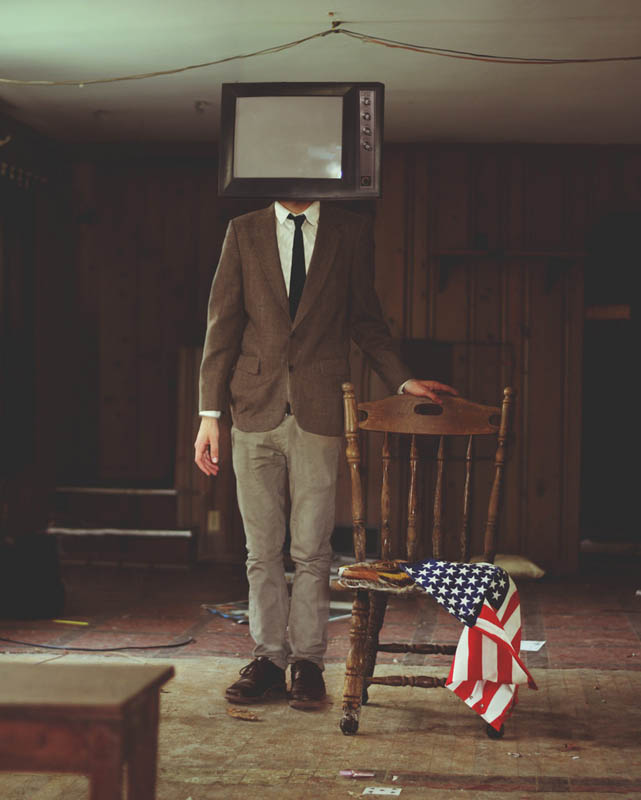 surreal 9 Сюрреалистические автопортреты Кайла Томпсона