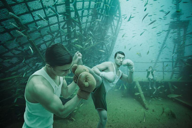 vandenberg02boxing Подводная выставка фотографий, сделанных под водой