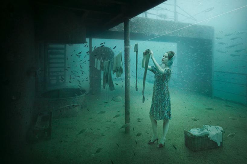 vandenberg09laundry lady Подводная выставка фотографий, сделанных под водой