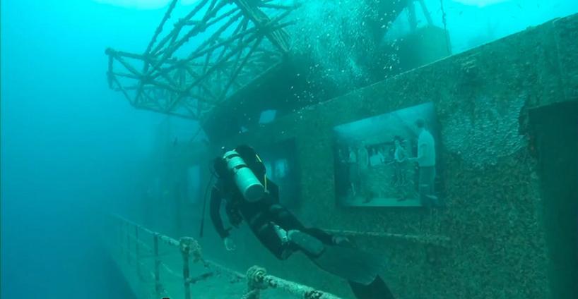 vandenberg15 Подводная выставка фотографий, сделанных под водой