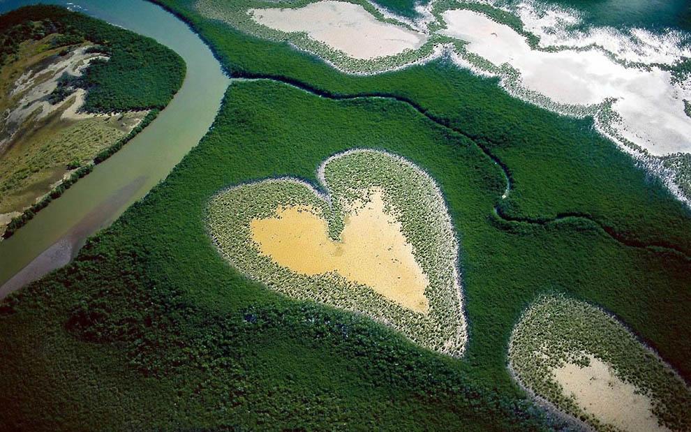 1 10 самых красивых природных сердец на Земле
