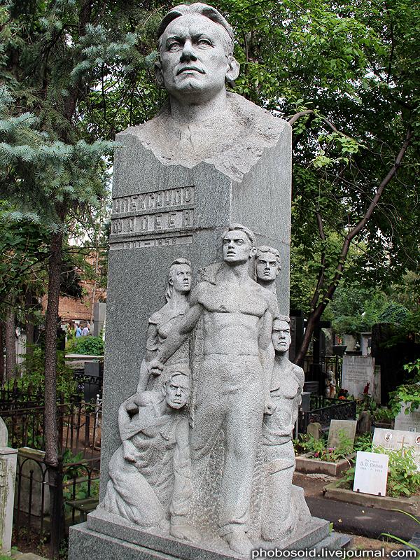 1082 Новодевичье кладбище   Покой великих
