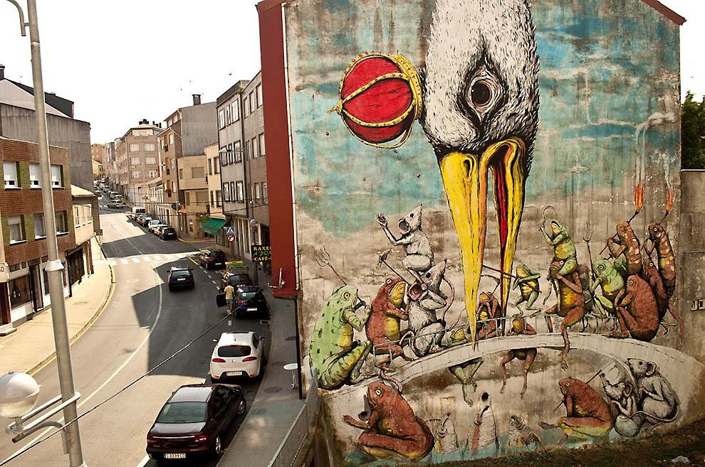 изображаемый самые крутые граффити в мире фото пансионата окружена сосновым