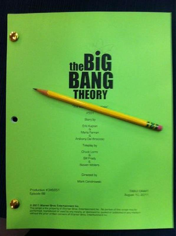 1273 На съемочной площадке The Big Bang Theory
