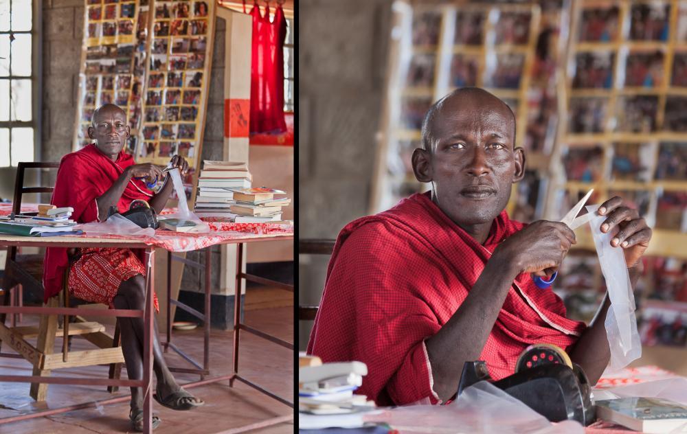 1303 Современные масаи