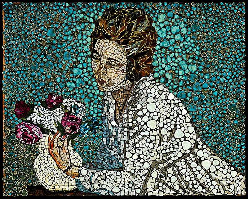 1331 Невероятные мозаики из ключей, деталей часов и других механизмов
