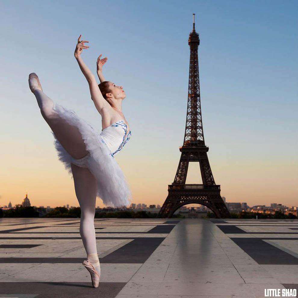 1334 Танцоры и танцовщицы в фотографиях Little Shao