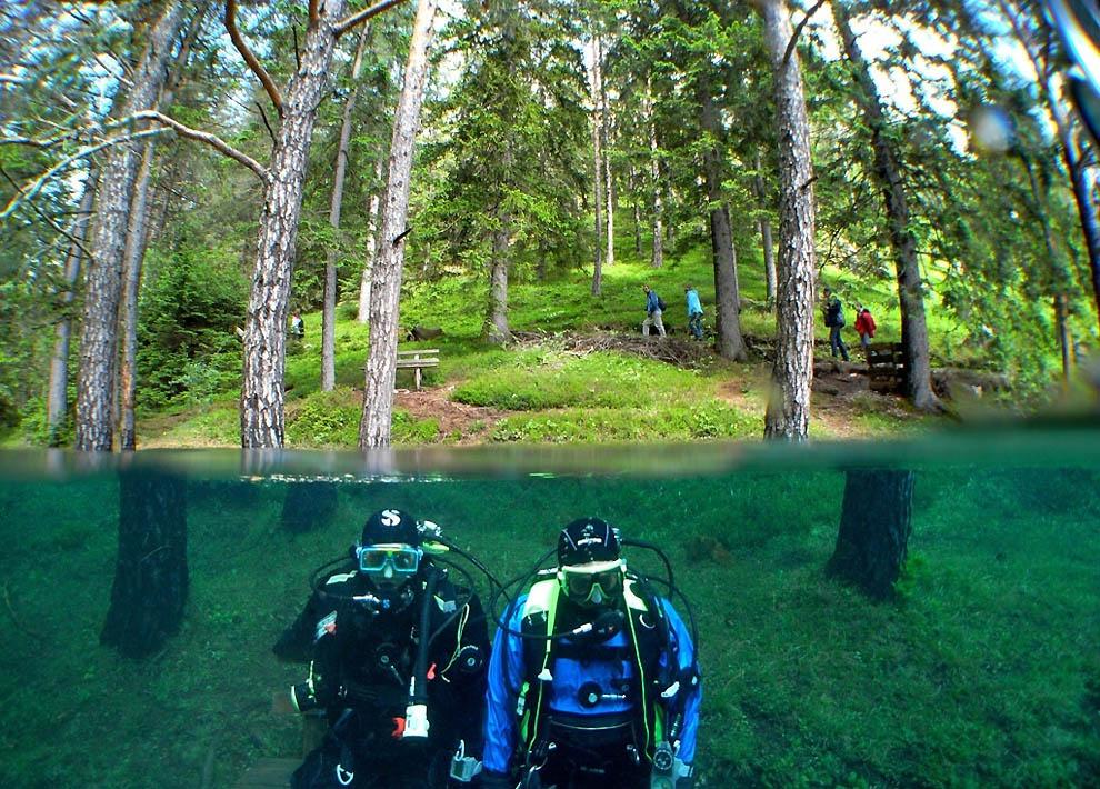 1624 Подводный парк «Зеленое озеро»