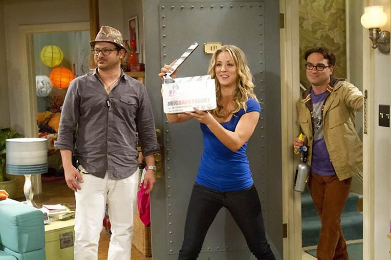 1750 На съемочной площадке The Big Bang Theory