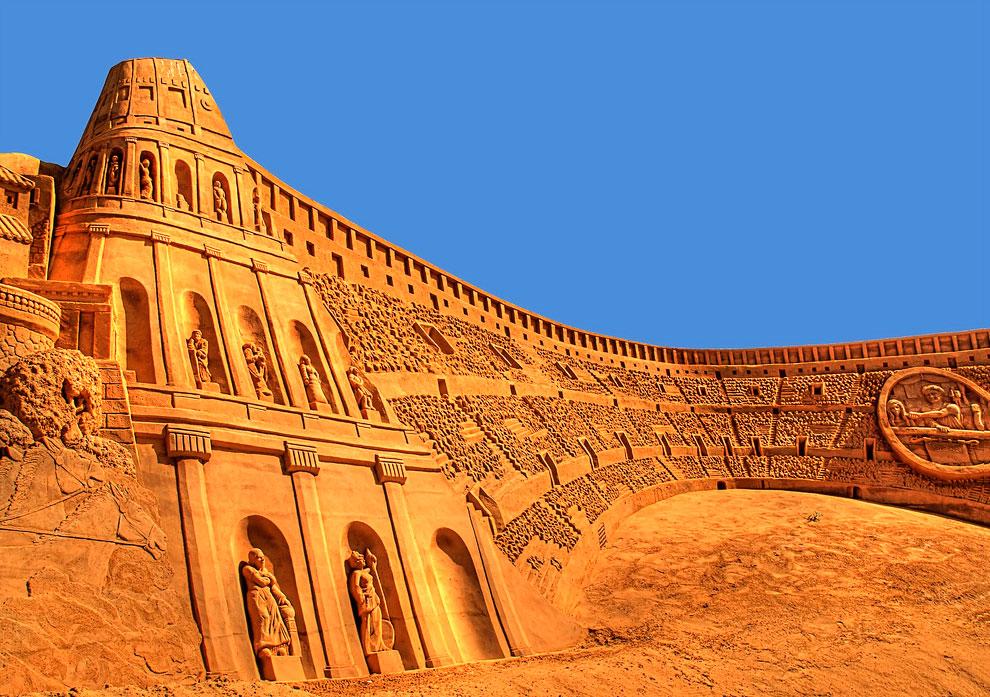 180 20 восхитительных песчаных скульптур
