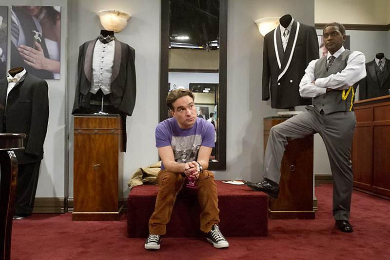 1847 На съемочной площадке The Big Bang Theory