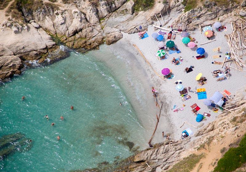 2036 Лето, пляж   вид сверху