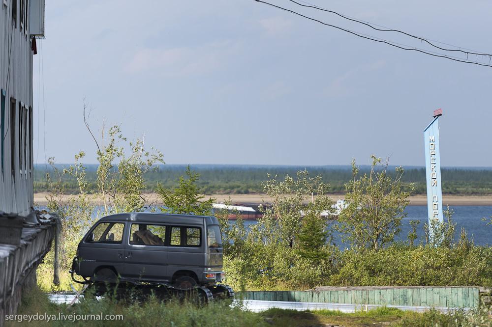 2037 Сплав по реке Котуйкан: Поселок Хатанга