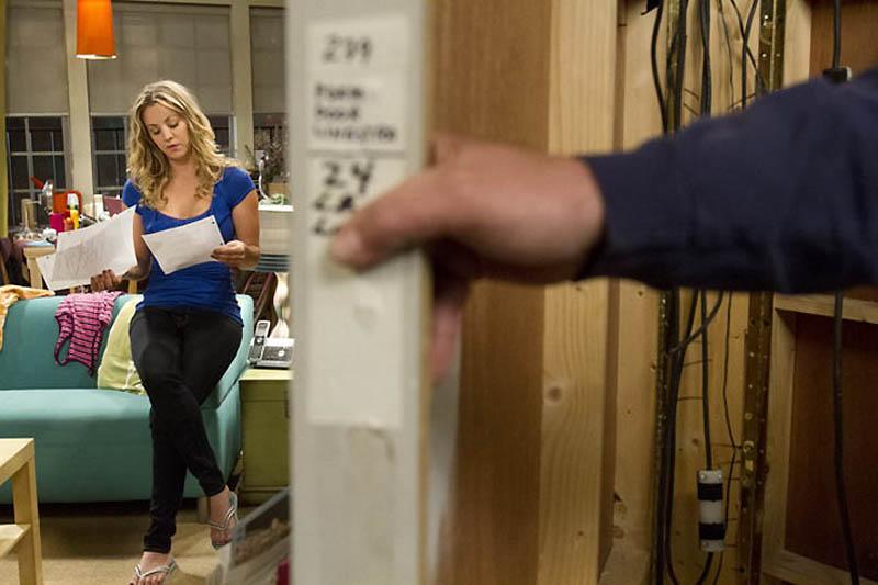 2041 На съемочной площадке The Big Bang Theory