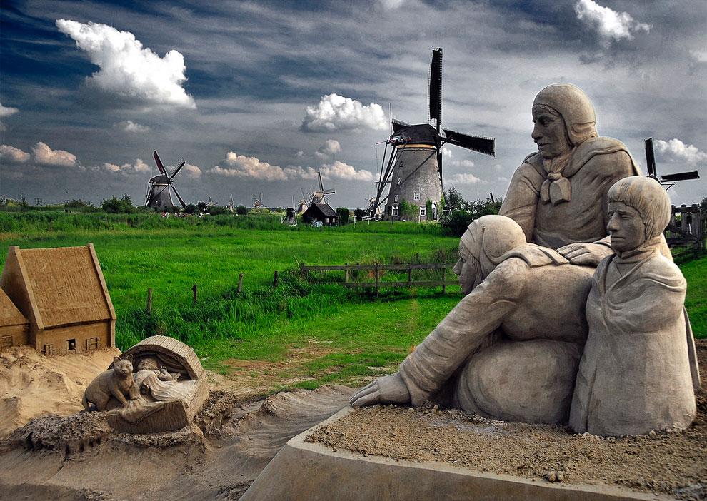 209 20 восхитительных песчаных скульптур