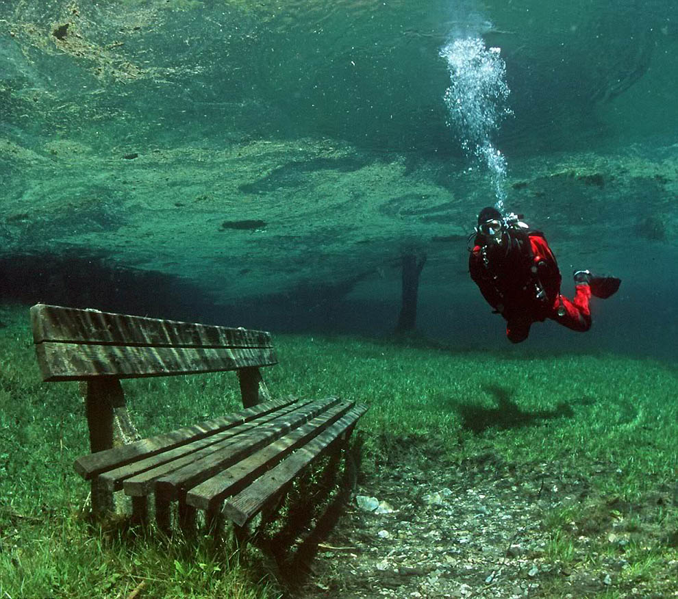 2103 Подводный парк «Зеленое озеро»