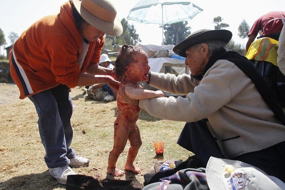 2161 Ребенка искупали в овечьей крови
