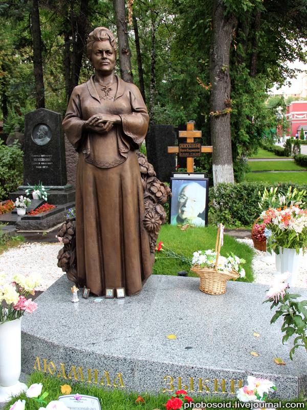 2177 Новодевичье кладбище   Покой великих