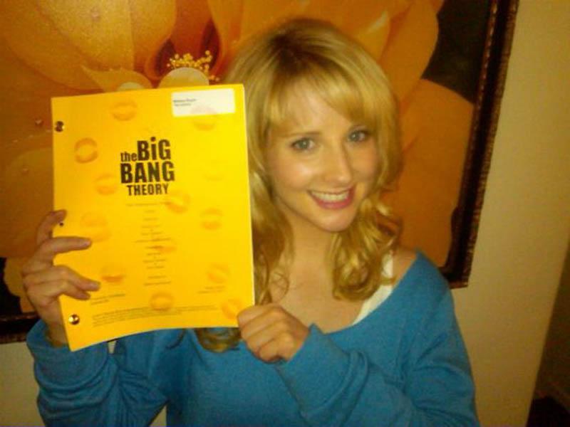 2183 На съемочной площадке The Big Bang Theory