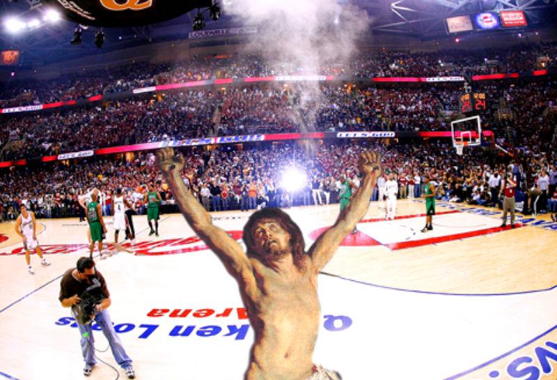 21LeBron Фотопроект «Иисус повсюду»