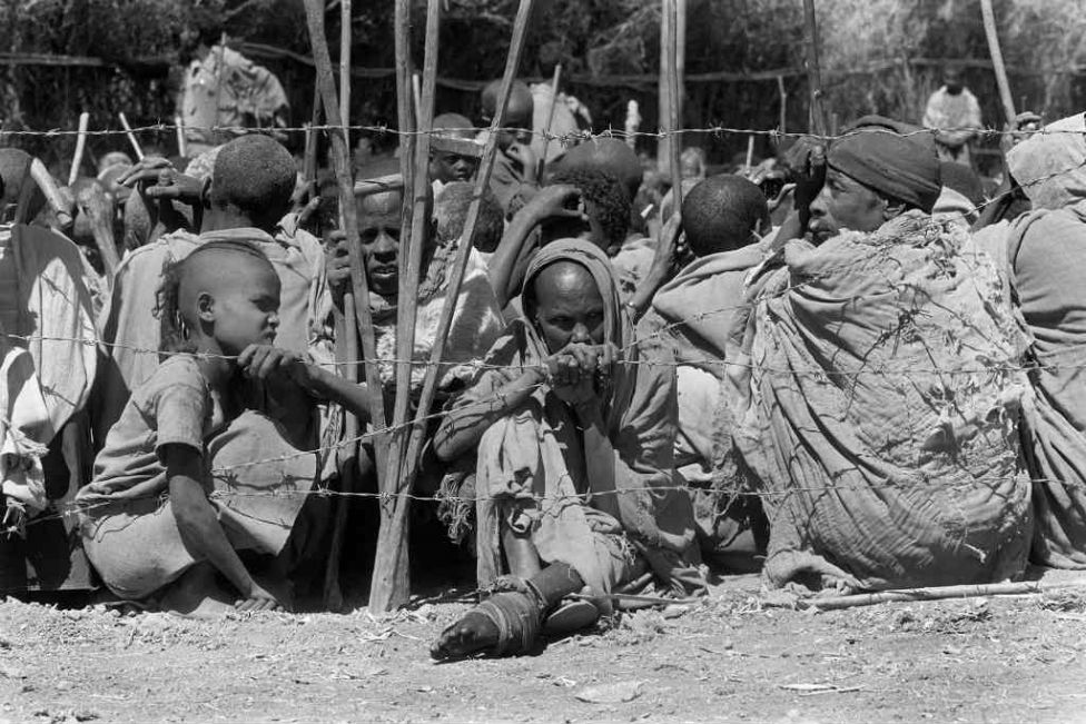 a history of ethiopia struck by famine between 1983 and 1985