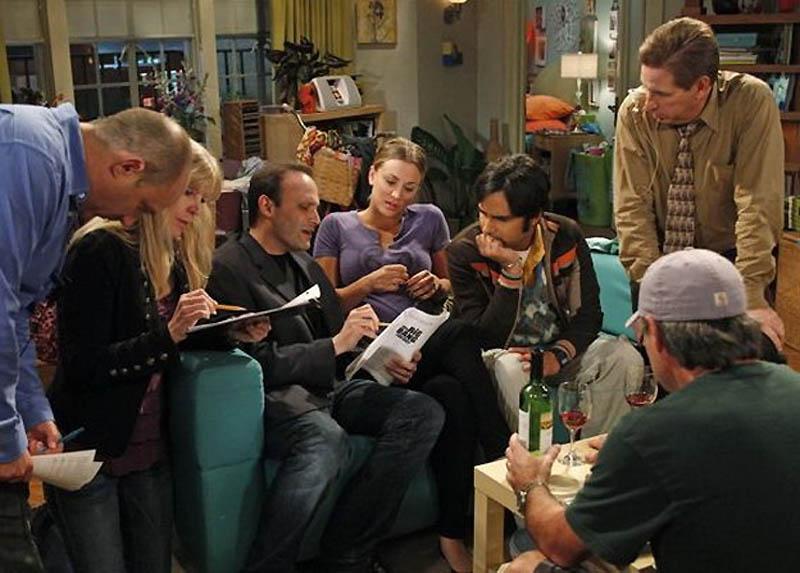 2234 На съемочной площадке The Big Bang Theory