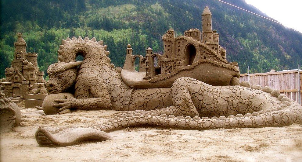 240 20 восхитительных песчаных скульптур