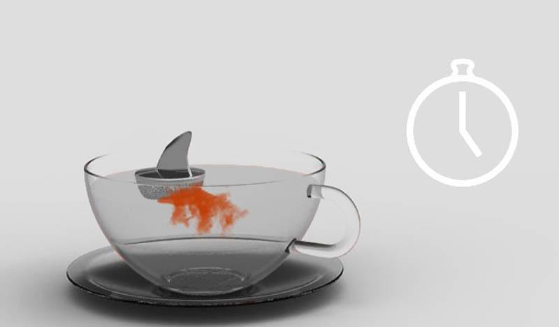 2416 Оригинальные заварники для чая в чашке
