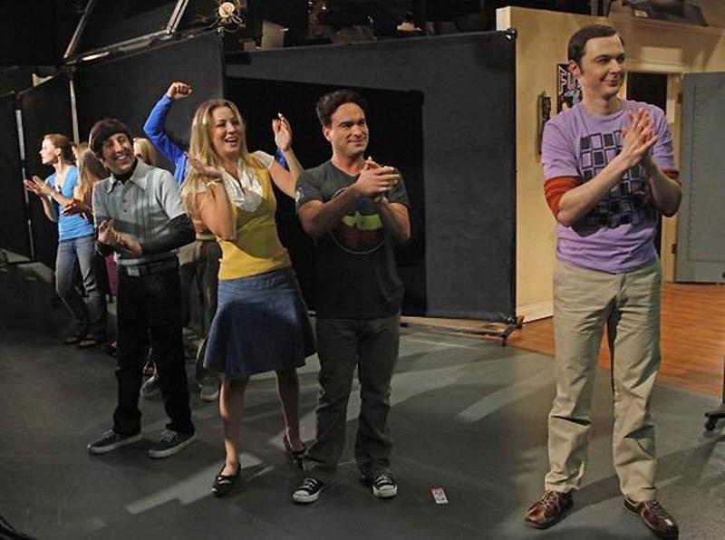 2724 На съемочной площадке The Big Bang Theory