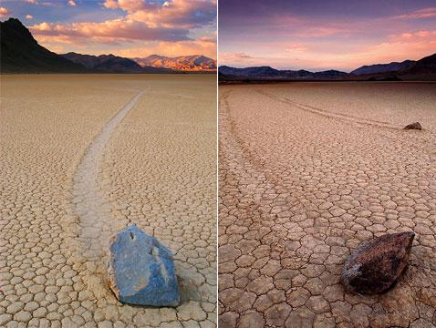 2s0 Движущиеся камни – Долина Смерти
