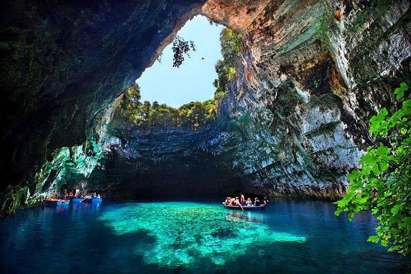 3122 Пещера Мелиссани