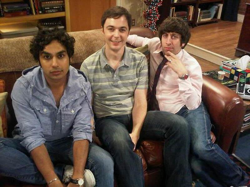 3144 На съемочной площадке The Big Bang Theory