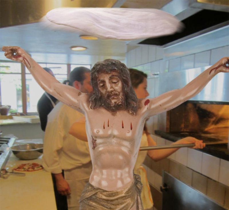 33Making Pizza Фотопроект «Иисус повсюду»