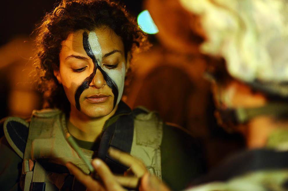 415 Прекрасная половина израильской армии