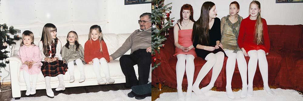 4sisters 17 Римейк старых фотографий из семейного альбома