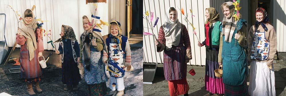 4sisters 21 Римейк старых фотографий из семейного альбома